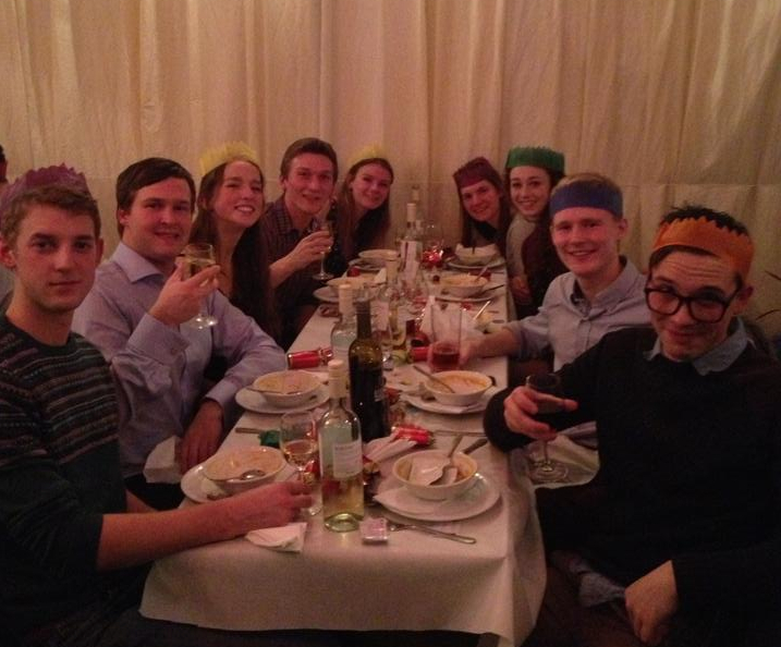 Photo showing UBES Christmas Dinner