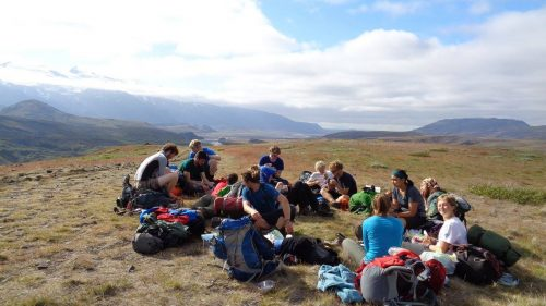 Lunch in big sky country, M Sturgess-Webb